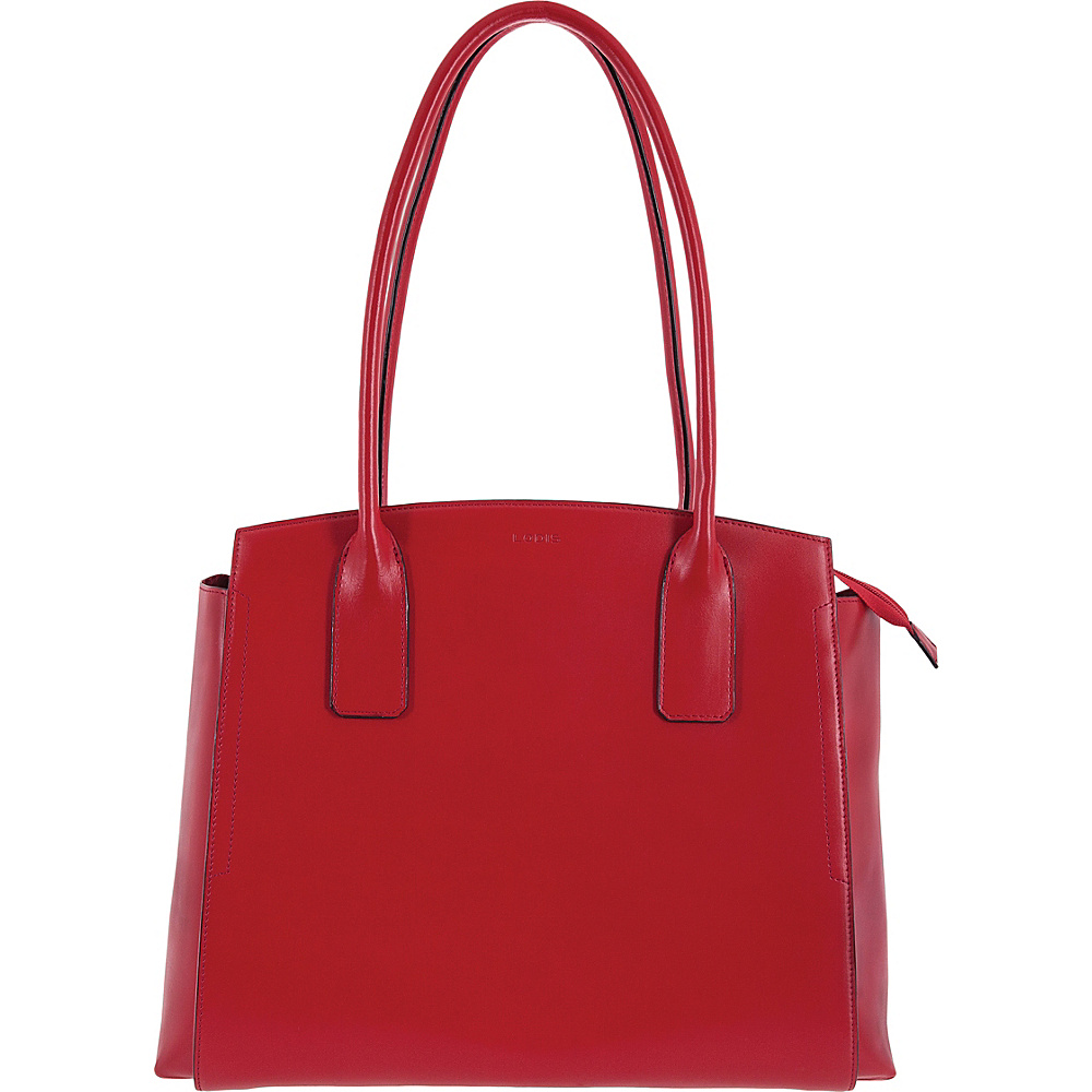 Lodis Audrey RFID Zola Tote Red - Lodis Leather Handbags - Handbags, Leather Handbags