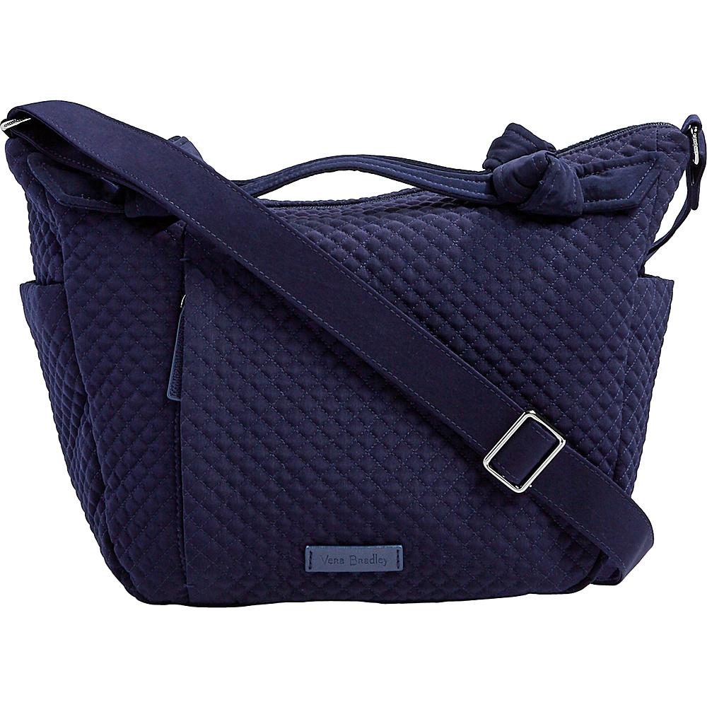 Vera Bradley Hadley On the Go Satchel - Solids Classic Navy - Vera Bradley Fabric Handbags - Handbags, Fabric Handbags