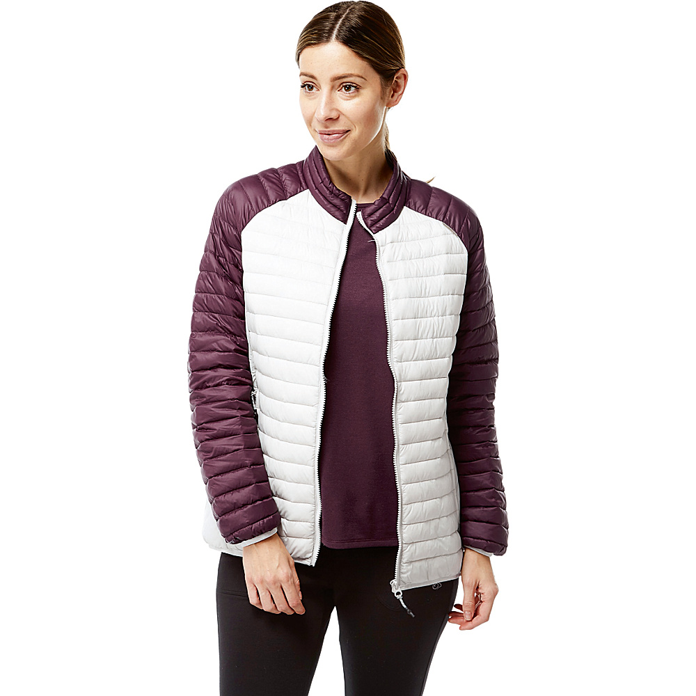 Craghoppers Venta Lite II Jacket 4 - Dove Gray/Winterberry - Craghoppers Womens Apparel - Apparel & Footwear, Women's Apparel