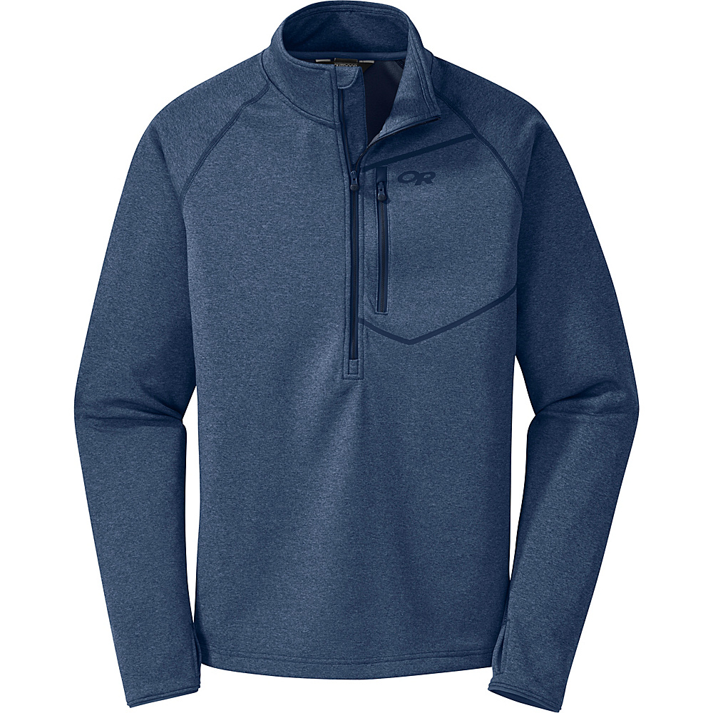 Outdoor Research Mens Starfire Zip Top Shirt M - Dusk/Night - Outdoor Research Mens Apparel - Apparel & Footwear, Men's Apparel