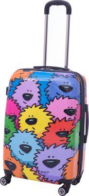 Ed Heck Luggage Sebastian 21 inch 8-Wheel Hardside Spinner Multi - Ed Heck Luggage Hardside Carry-On