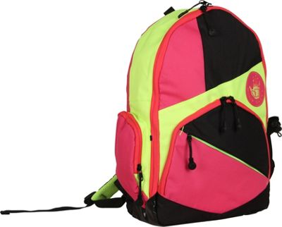 BODY GLOVE Long Lat Mayette Backpack Pink Multi - BODY GLOVE Long Lat Everyday Backpacks