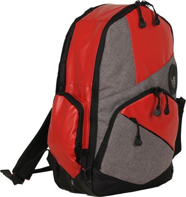 BODY GLOVE Long Lat Mayette Backpack Red - BODY GLOVE Long Lat Everyday Backpacks