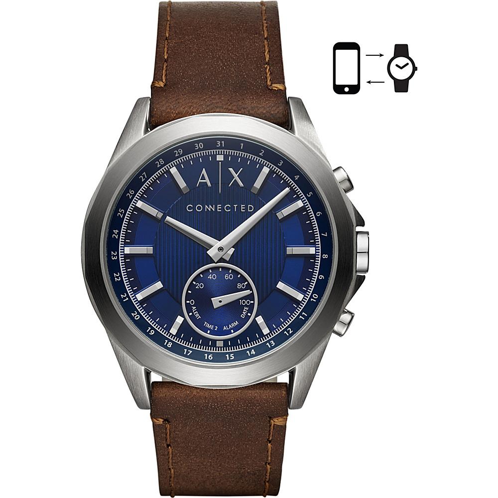 A/X Armani Exchange Men''s Hybrid Smartwatch Brown - A/X Armani Exchange Wearable Technology