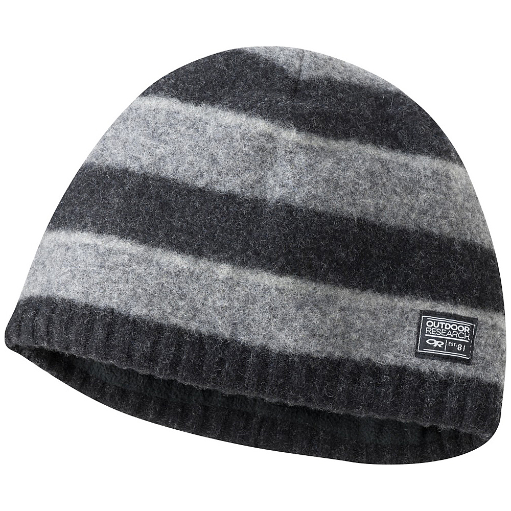Outdoor Research Mens Route Beanie One Size - Black - Outdoor Research Hats/Gloves/Scarves - Fashion Accessories, Hats/Gloves/Scarves