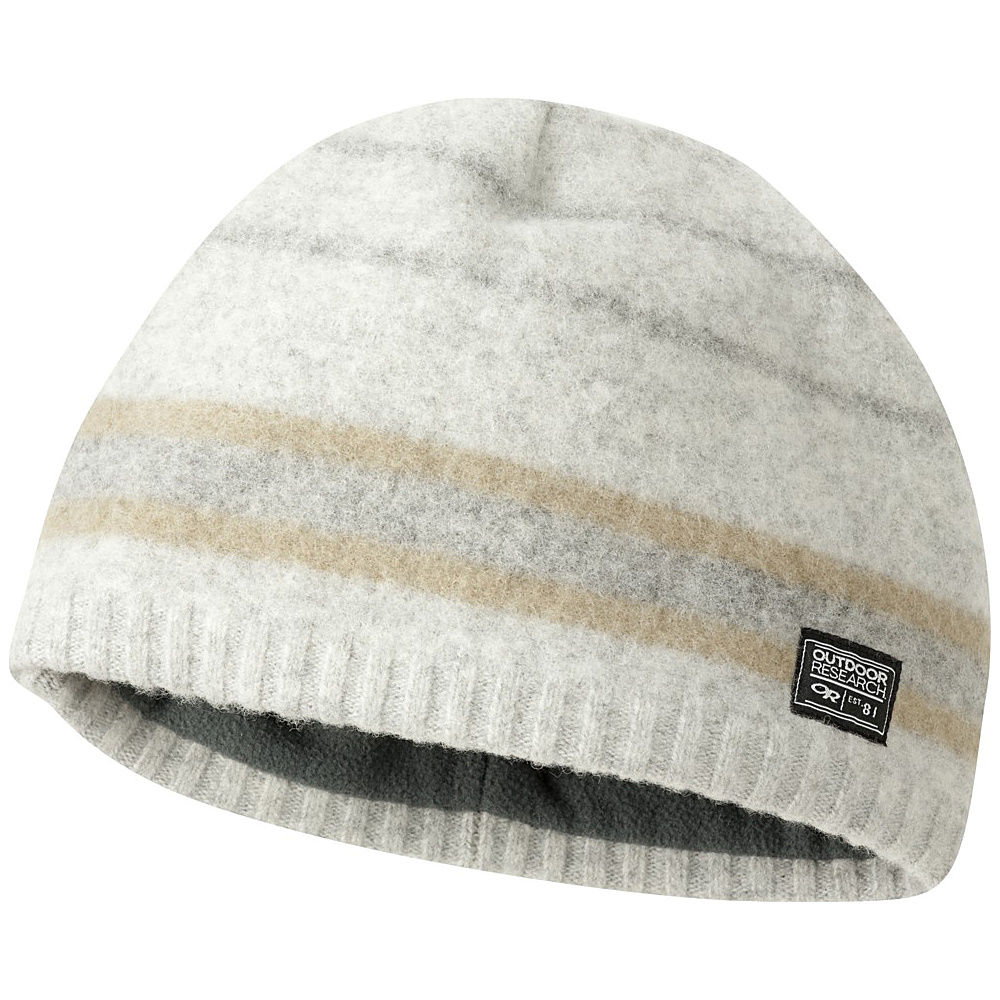 Outdoor Research Mens Route Beanie One Size - Pewter - Outdoor Research Hats/Gloves/Scarves - Fashion Accessories, Hats/Gloves/Scarves