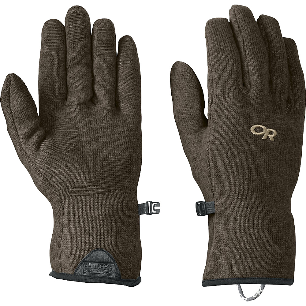 Outdoor Research Mens Longhouse Sensor Gloves S - Earth - Outdoor Research Hats/Gloves/Scarves - Fashion Accessories, Hats/Gloves/Scarves