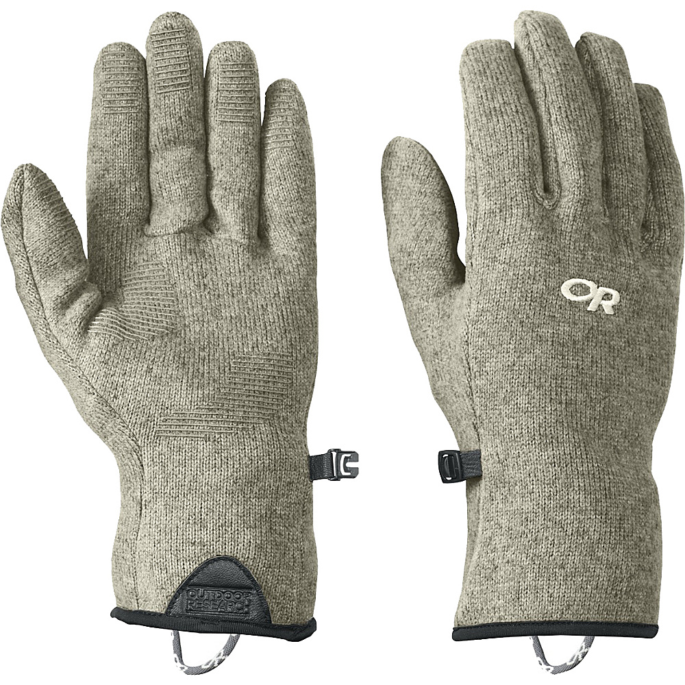 Outdoor Research Mens Longhouse Sensor Gloves S - Cairn - Outdoor Research Hats/Gloves/Scarves - Fashion Accessories, Hats/Gloves/Scarves