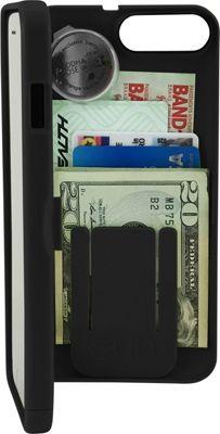 eyn case iPhone 7 Storage Wallet Case Black - eyn case Electronic Cases