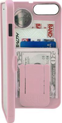 eyn case iPhone 7 Storage Wallet Case Pale Dogwood - eyn case Electronic Cases