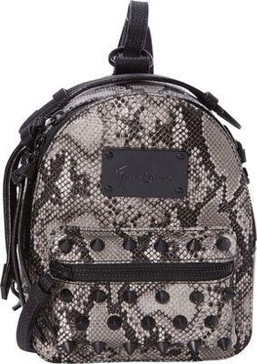 Foley + Corinna Skyline Bandit Backpack Black Combo Snake - Foley + Corinna Manmade Handbags