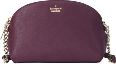 kate spade new york Cameron Street Hilli Crossbody Deep Plum - kate spade new york Designer Handbags