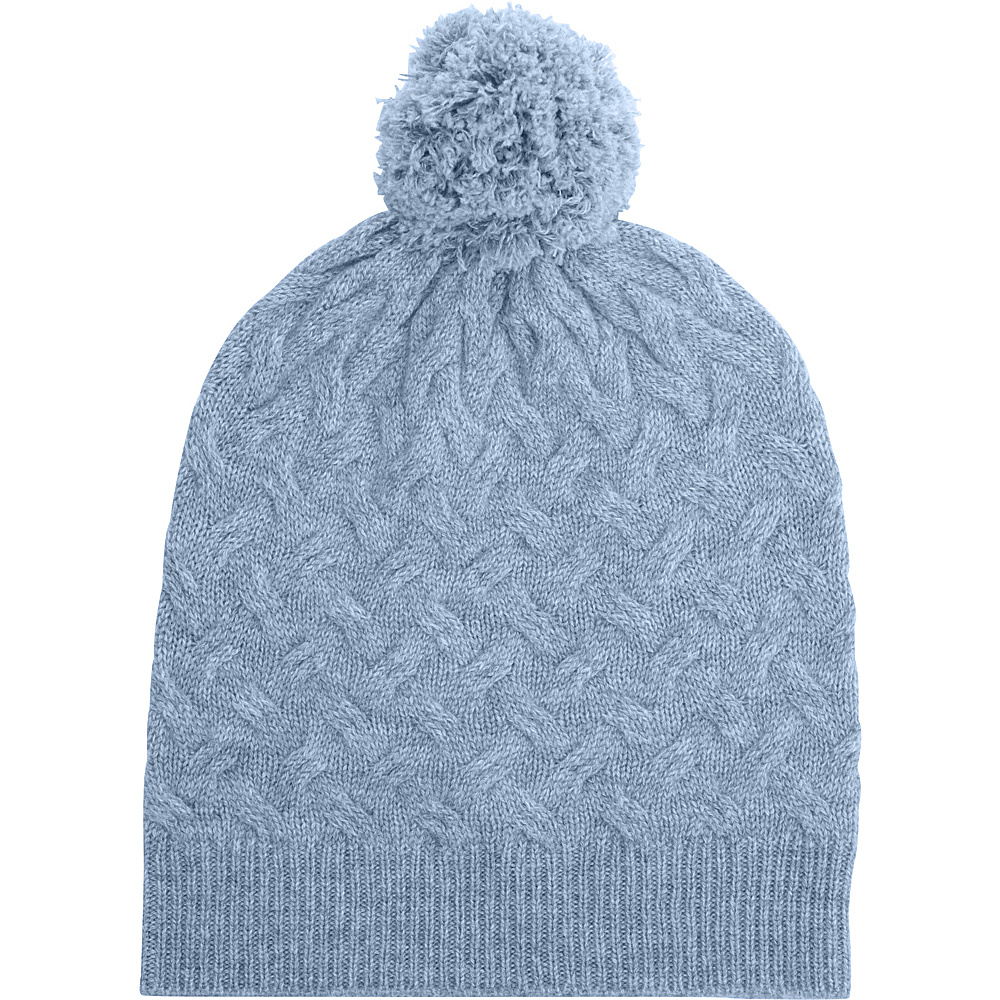 Kinross Cashmere Cable Hat One Size - Ceil - Kinross Cashmere Hats/Gloves/Scarves - Fashion Accessories, Hats/Gloves/Scarves
