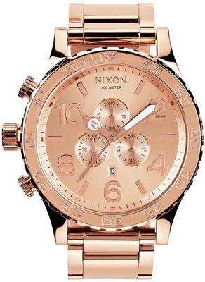 Nixon 51-30 Chrono Watch All Rose Gold - Nixon Watches