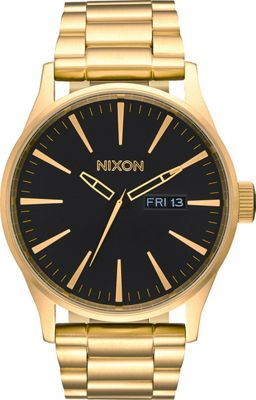 Nixon Sentry SS Watch All Gold/Black - Nixon Watches