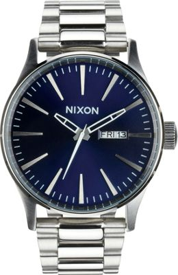 Nixon Sentry SS Watch Blue Sunray - Nixon Watches