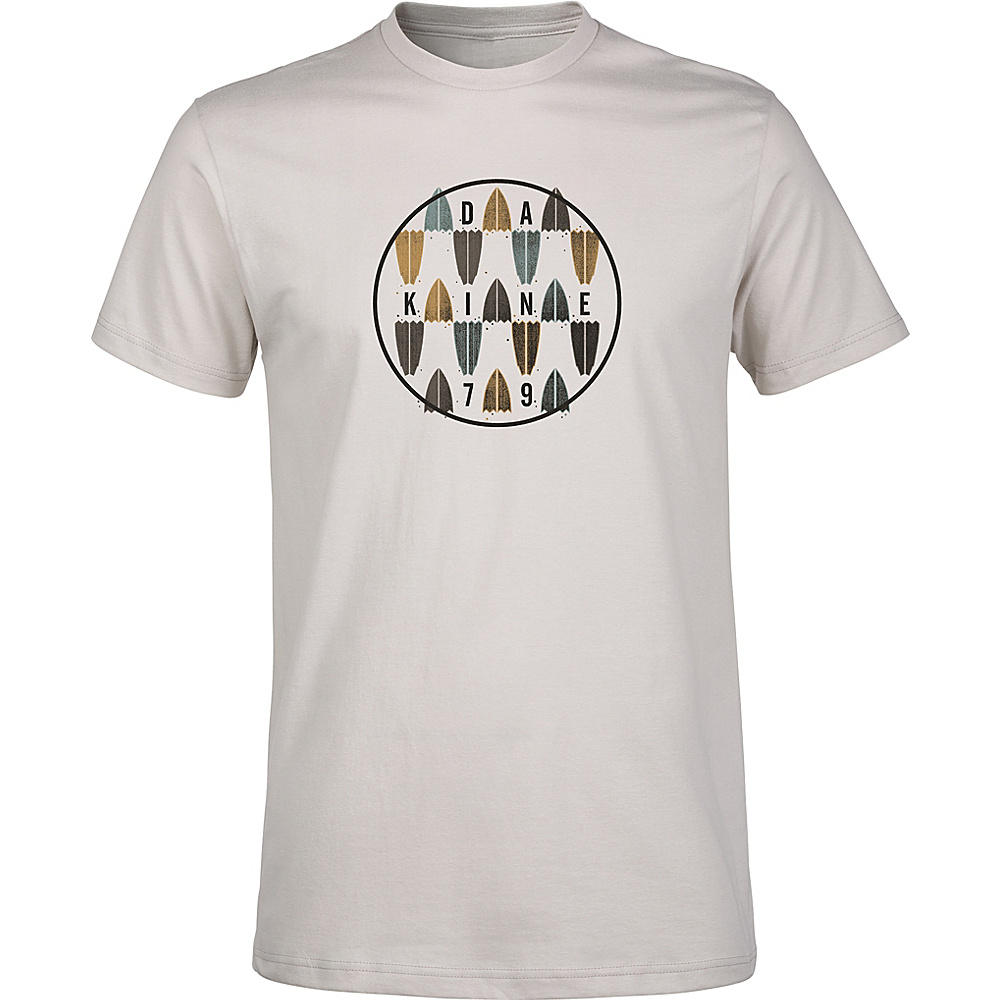 DAKINE Mens Focus T-Shirt XL - Silver Grey - DAKINE Mens Apparel - Apparel & Footwear, Men's Apparel