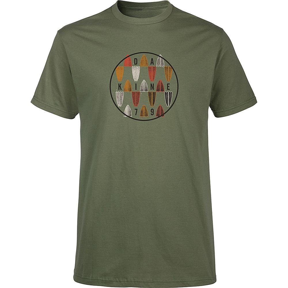 DAKINE Mens Focus T-Shirt L - Army - DAKINE Mens Apparel - Apparel & Footwear, Men's Apparel