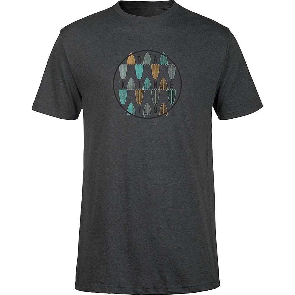 DAKINE Mens Focus T-Shirt L - Charcoal Heather - DAKINE Mens Apparel - Apparel & Footwear, Men's Apparel