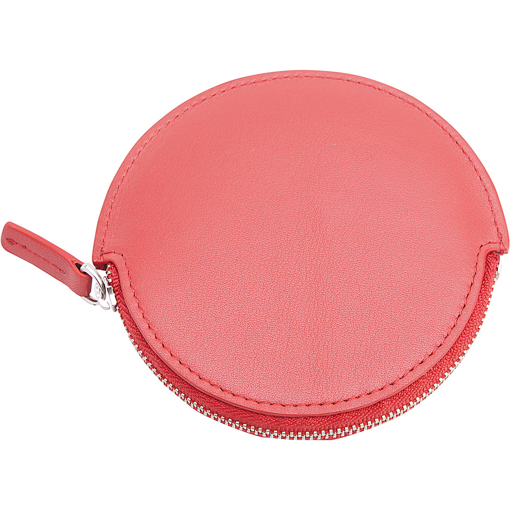 Royce Leather Circular Earbud Travel Case Red - Royce Leather Headphones & Speakers - Technology, Headphones & Speakers