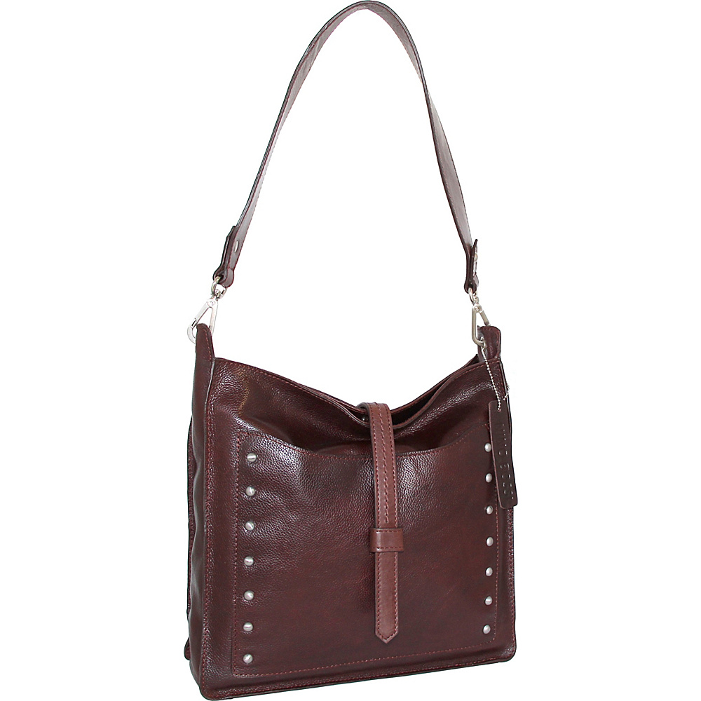 Nino Bossi Iyanna Shoulder Bag Walnut - Nino Bossi Leather Handbags - Handbags, Leather Handbags