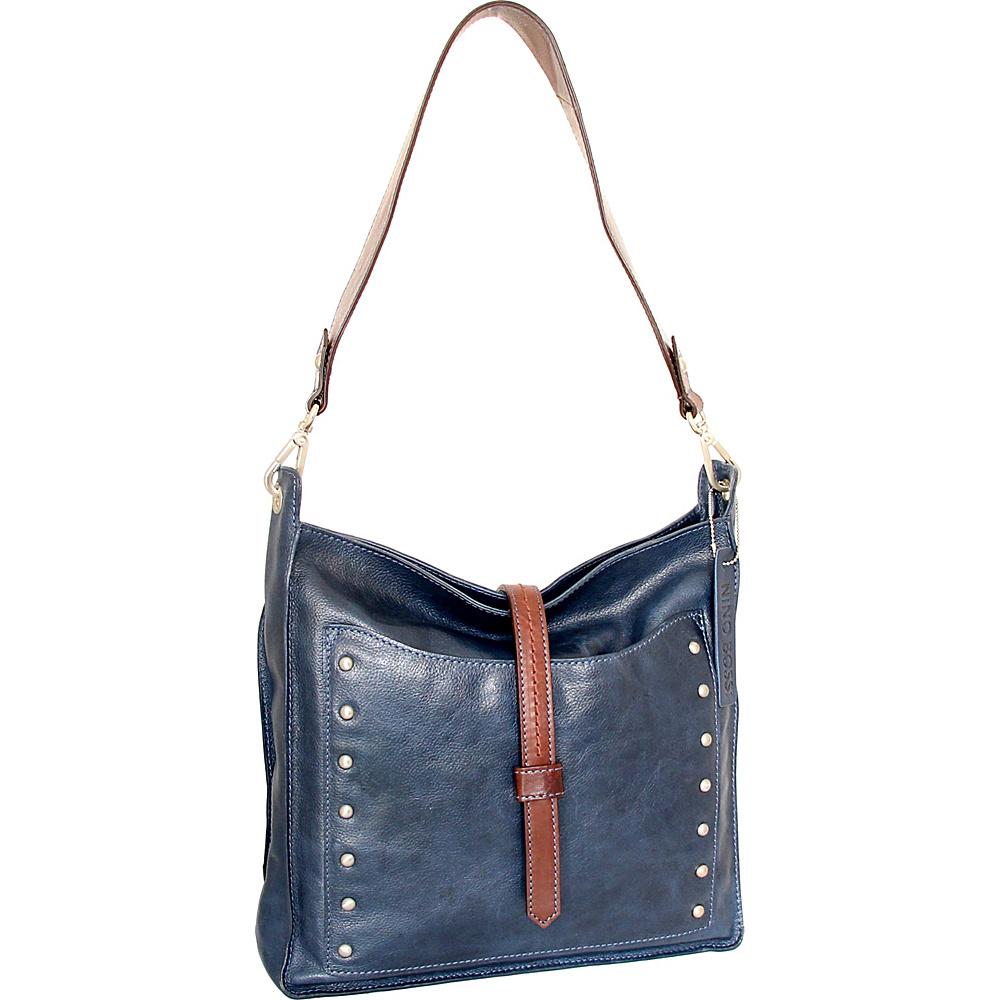 Nino Bossi Iyanna Shoulder Bag Blue - Nino Bossi Leather Handbags - Handbags, Leather Handbags