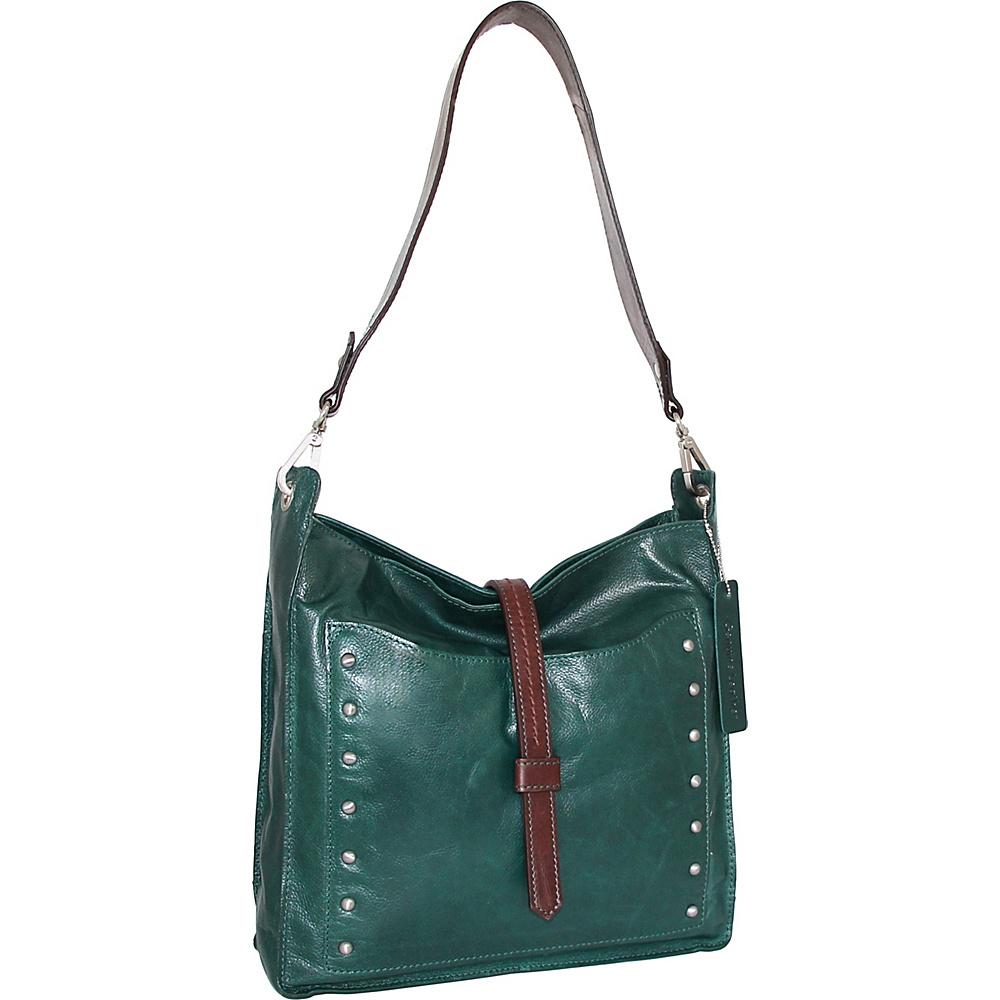 Nino Bossi Iyanna Shoulder Bag Green - Nino Bossi Leather Handbags - Handbags, Leather Handbags