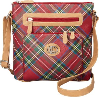 Aurielle-Carryland Tartan Plaid Crossbody Tartan Plaid - Aurielle-Carryland Manmade Handbags