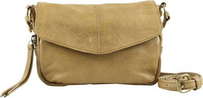 Day & Mood Oak Crossbody Pale Khaki - Day & Mood Leather Handbags