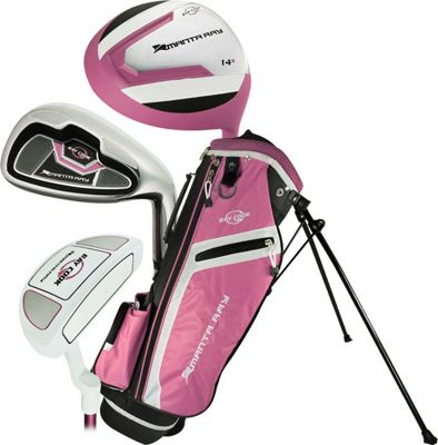 Ray Cook Golf Junior Girls Manta Ray Golf 5 Piece Set with Bag Ages 3-5 Pink - Ray Cook Golf Golf Bags