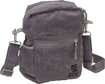 aTana Bags Binghi Crossbody Bag Gray - aTana Bags Fabric Handbags