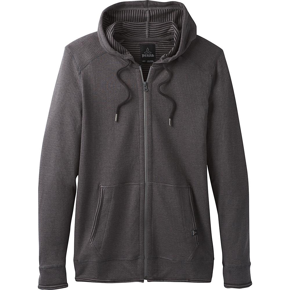 PrAna Smith Full Zip Jacket L - Gravel - PrAna Mens Apparel - Apparel & Footwear, Men's Apparel