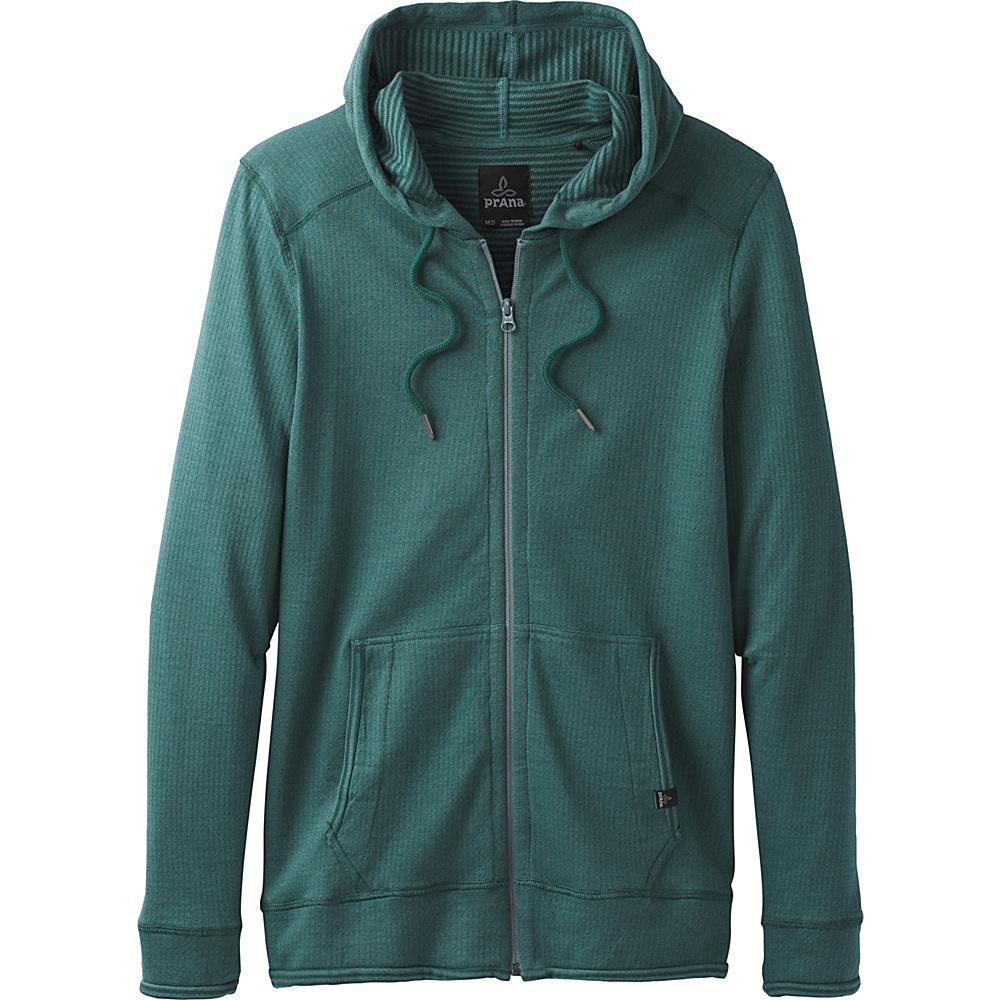 PrAna Smith Full Zip Jacket M - Starling Green - PrAna Mens Apparel - Apparel & Footwear, Men's Apparel