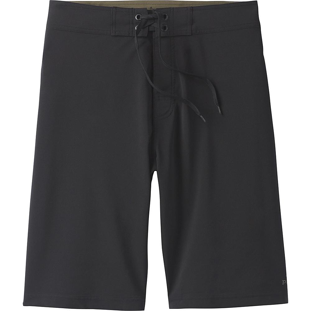 PrAna Sediment Short / 8 Inseam 32 - Black - PrAna Mens Apparel - Apparel & Footwear, Men's Apparel