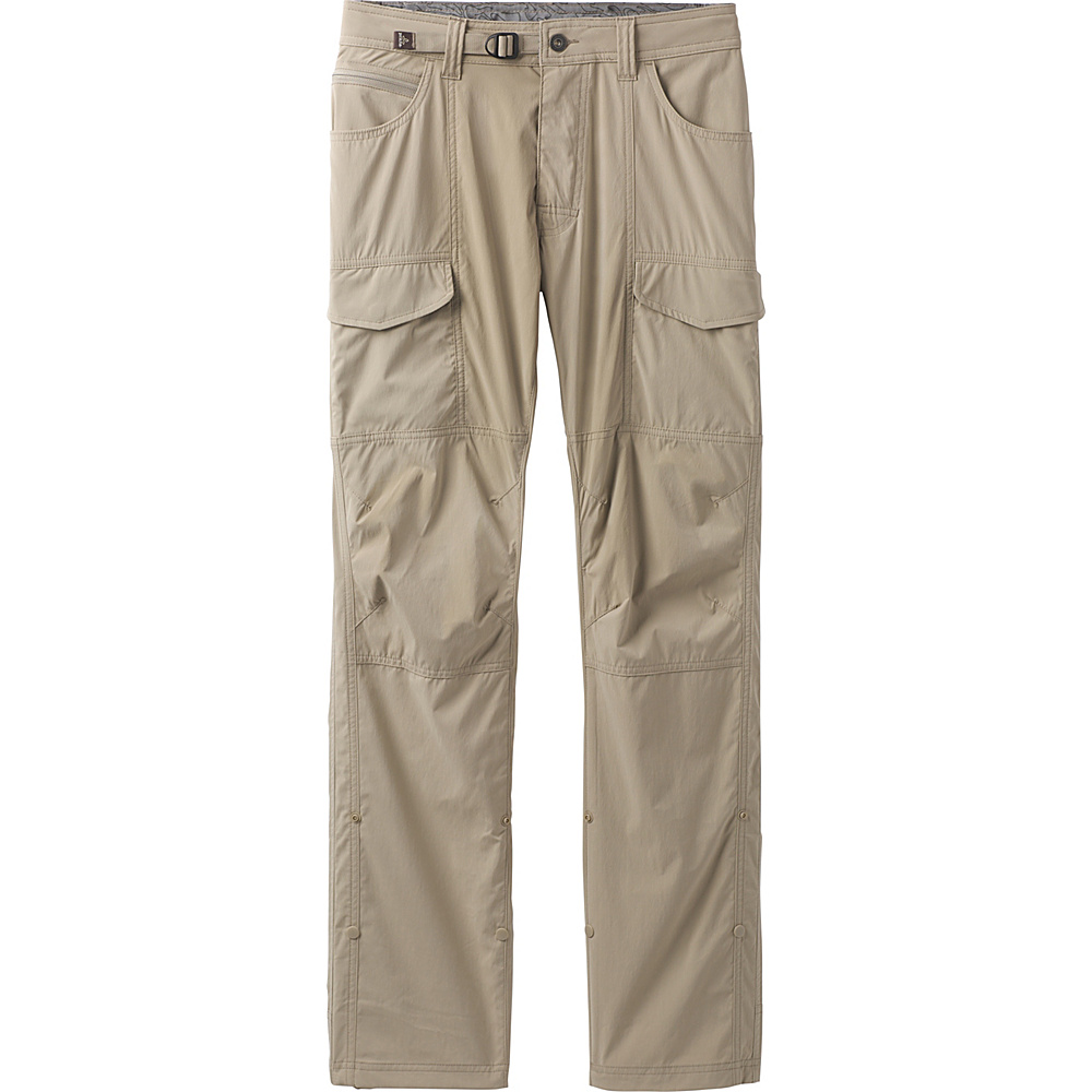 PrAna Broadfield Pant 32 Inseam 32 - Dark Khaki - PrAna Mens Apparel - Apparel & Footwear, Men's Apparel