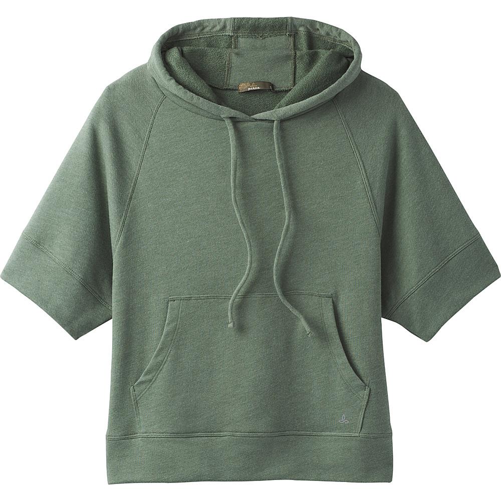 PrAna Palmetto Hoodie XS - Forest Green - PrAna Womens Apparel - Apparel & Footwear, Women's Apparel