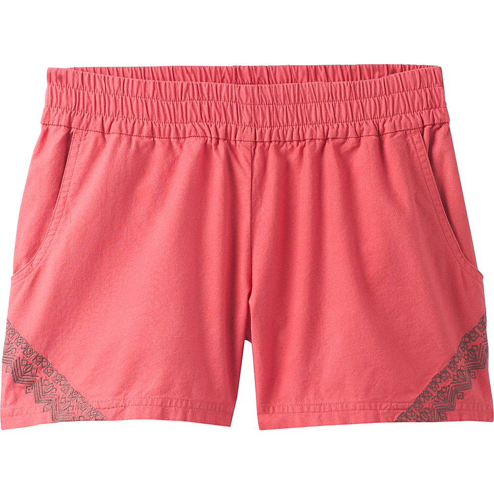 PrAna Hermione Short XS - Peach Gerberas - PrAna Womens Apparel - Apparel & Footwear, Women's Apparel