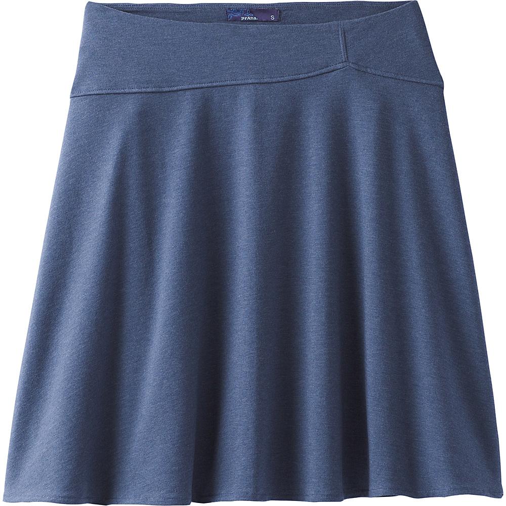 PrAna Camey Skirt L - Equinox Blue - PrAna Womens Apparel - Apparel & Footwear, Women's Apparel