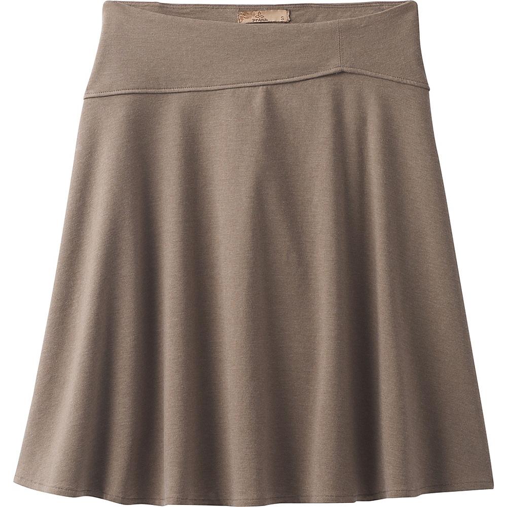 PrAna Camey Skirt M - Mud - PrAna Womens Apparel - Apparel & Footwear, Women's Apparel