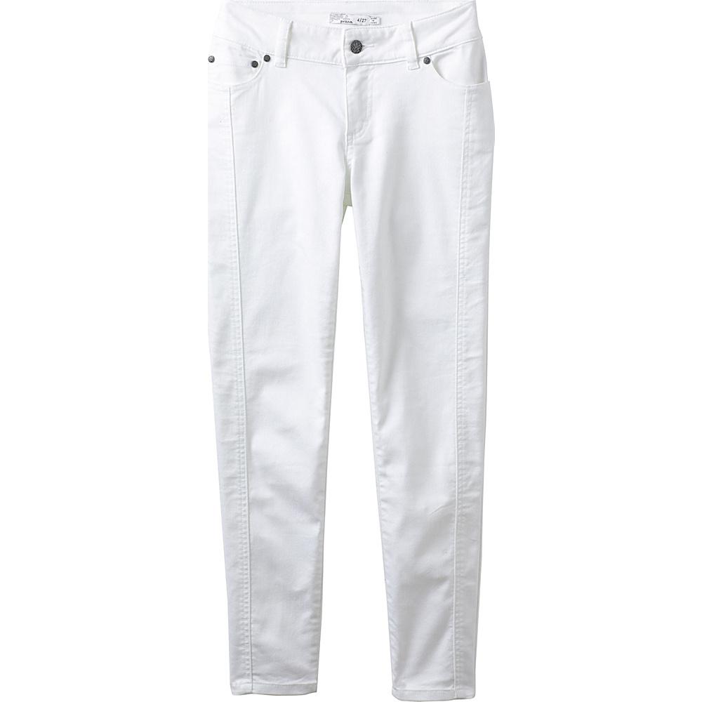 PrAna Carlotta Crop 0 - White - PrAna Womens Apparel - Apparel & Footwear, Women's Apparel