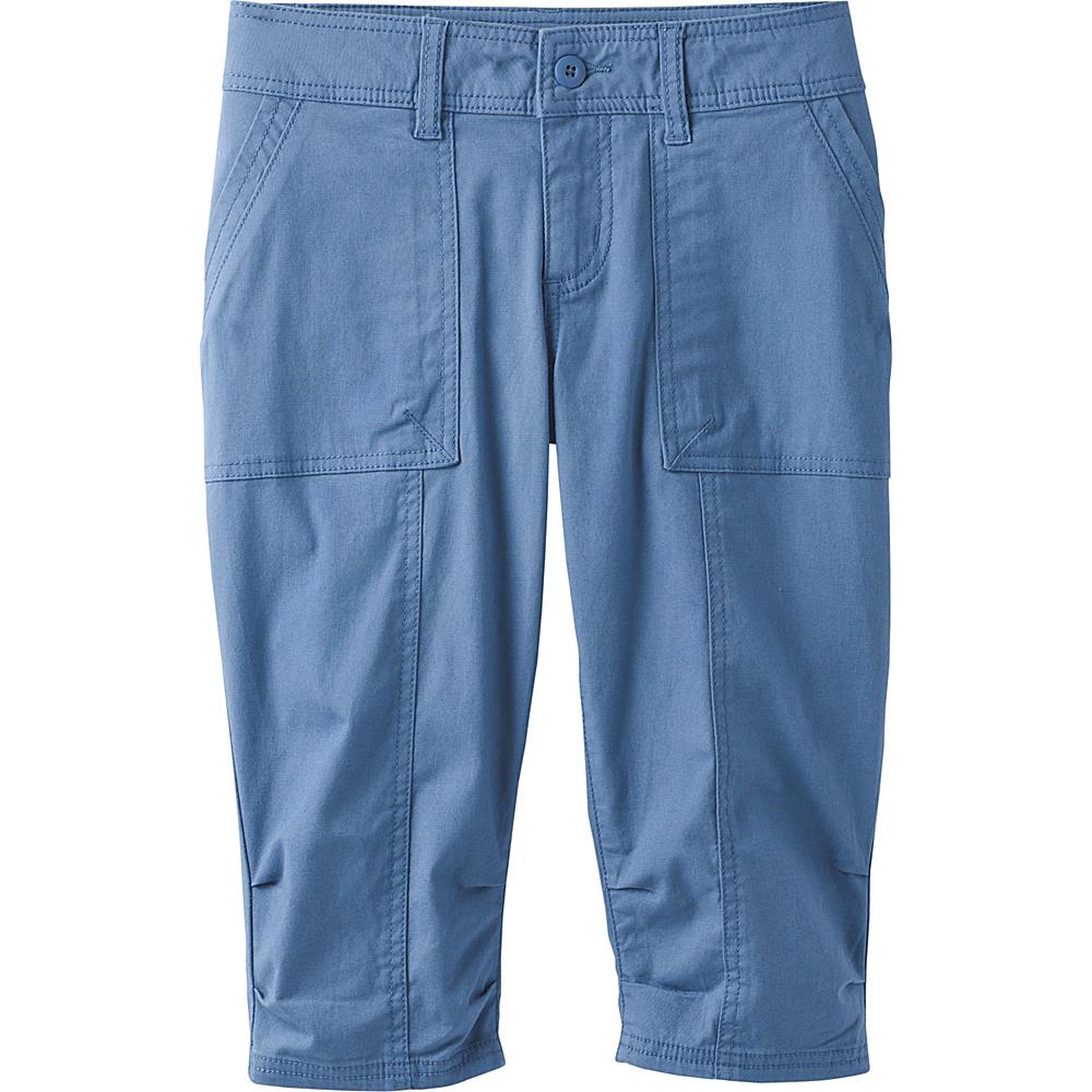 PrAna Adira Knicker 0 - Sunbleached Blue - PrAna Womens Apparel - Apparel & Footwear, Women's Apparel