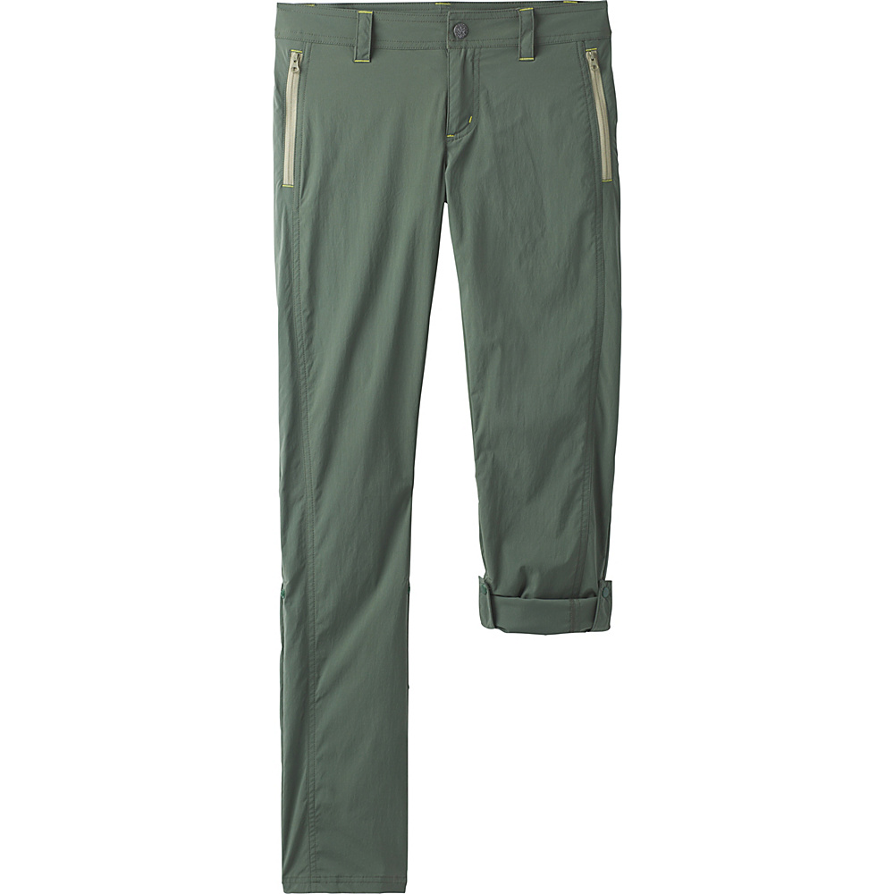 PrAna Aria Pant 12 - Regular - Forest Green - PrAna Womens Apparel - Apparel & Footwear, Women's Apparel