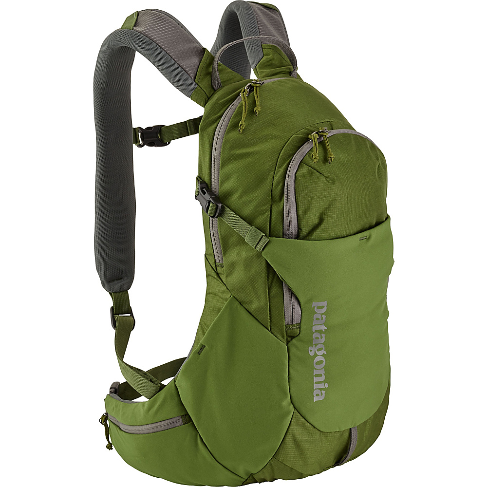 Patagonia Nine Trails Pack 14L Hiking Pack - L/XL Sprouted Green - Patagonia Day Hiking Backpacks - Outdoor, Day Hiking Backpacks