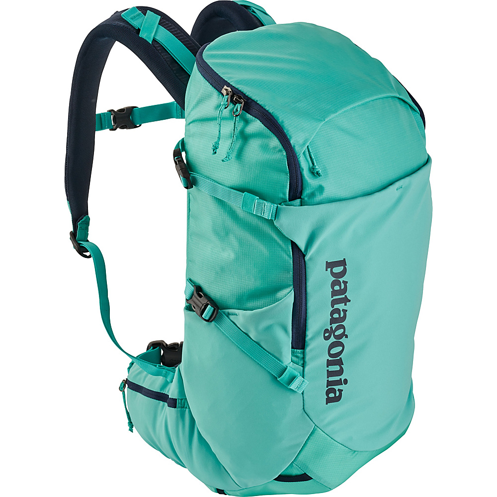 Patagonia Womens Nine Trails Pack 26L Hiking Pack - L/XL Strait Blue - Patagonia Day Hiking Backpacks - Outdoor, Day Hiking Backpacks