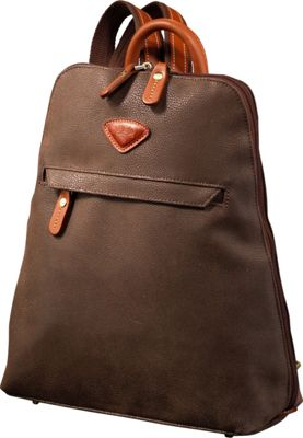 Jump Uppsala Flat Backpack Chocolate - Jump Everyday Backpacks