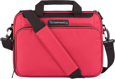 TechProducts 360 Vault 12 inch Case Red - TechProducts 360 Messenger Bags