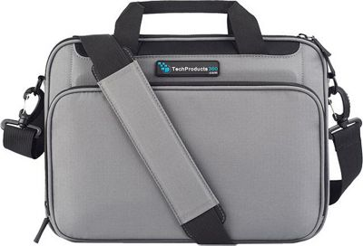 TechProducts 360 Vault 12 inch Case Grey - TechProducts 360 Messenger Bags