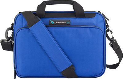 TechProducts 360 Vault 12 inch Case Blue - TechProducts 360 Messenger Bags