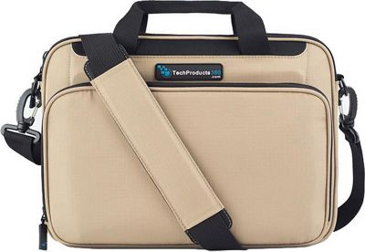 TechProducts 360 Vault 12 inch Case Khaki - TechProducts 360 Messenger Bags