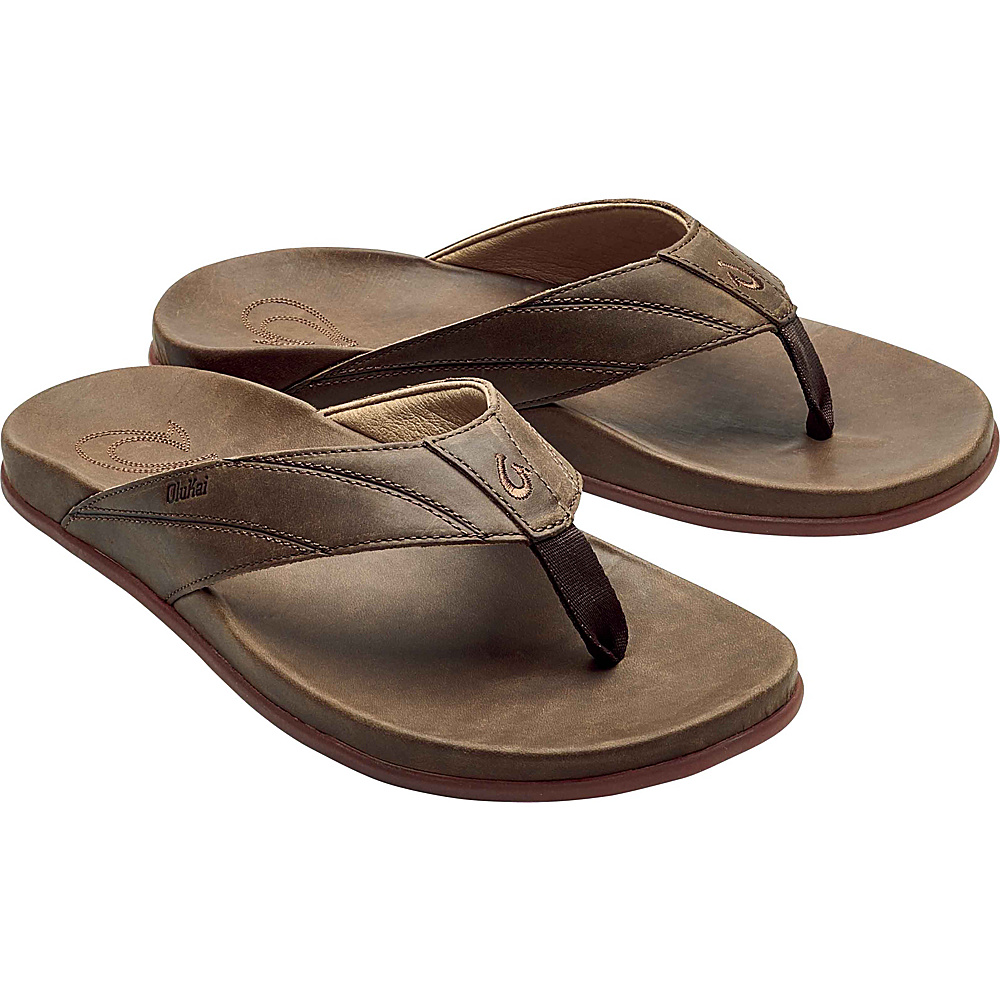 OluKai Mens Pikoi Sandal 10 - Ray/Ray - OluKai Mens Footwear - Apparel & Footwear, Men's Footwear
